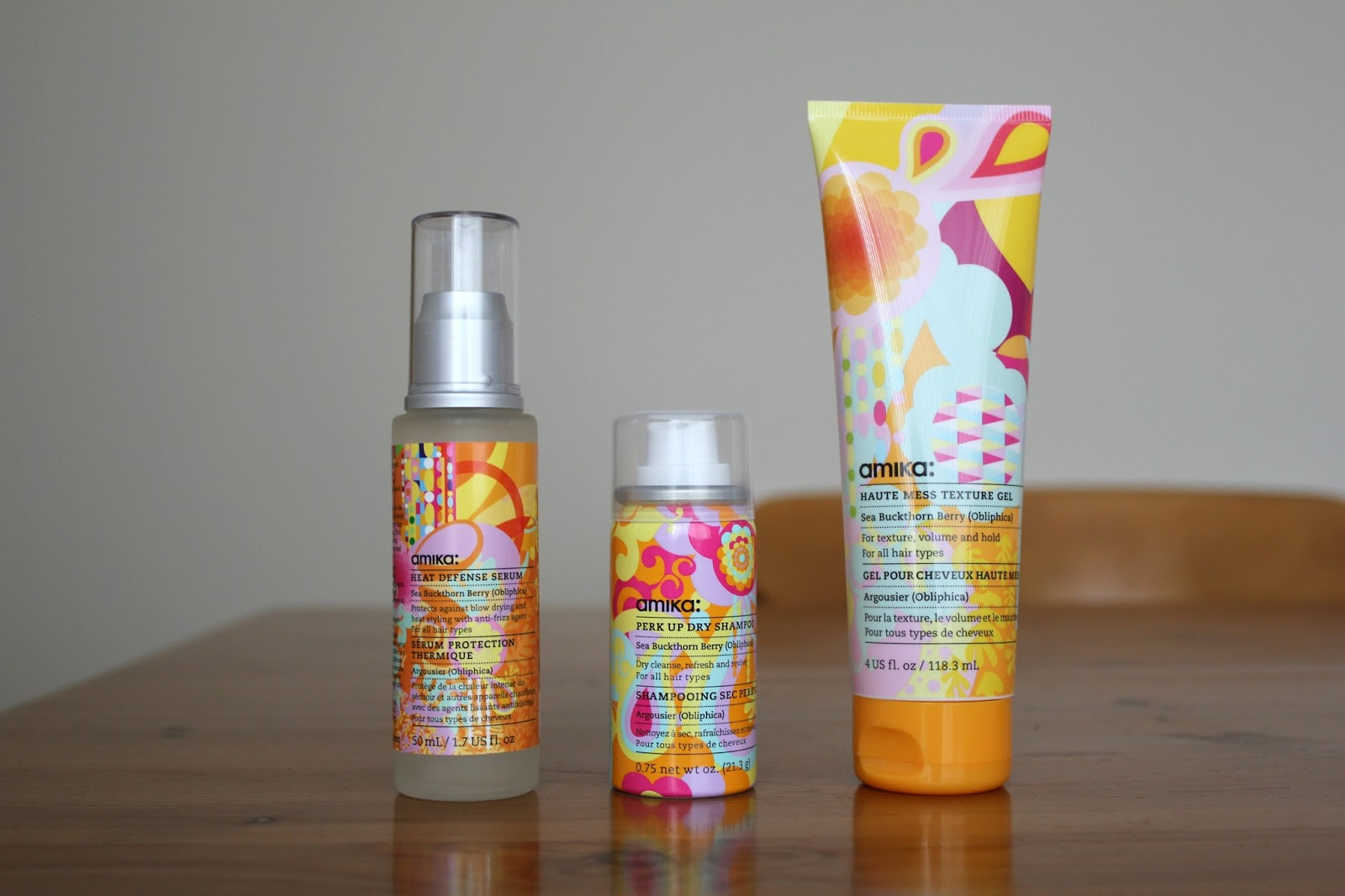 Petite December Amika Hair Products