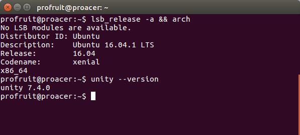 терминал в Ubuntu 16.04