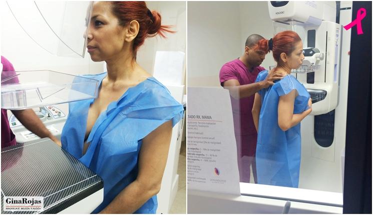 la mamografía no duele