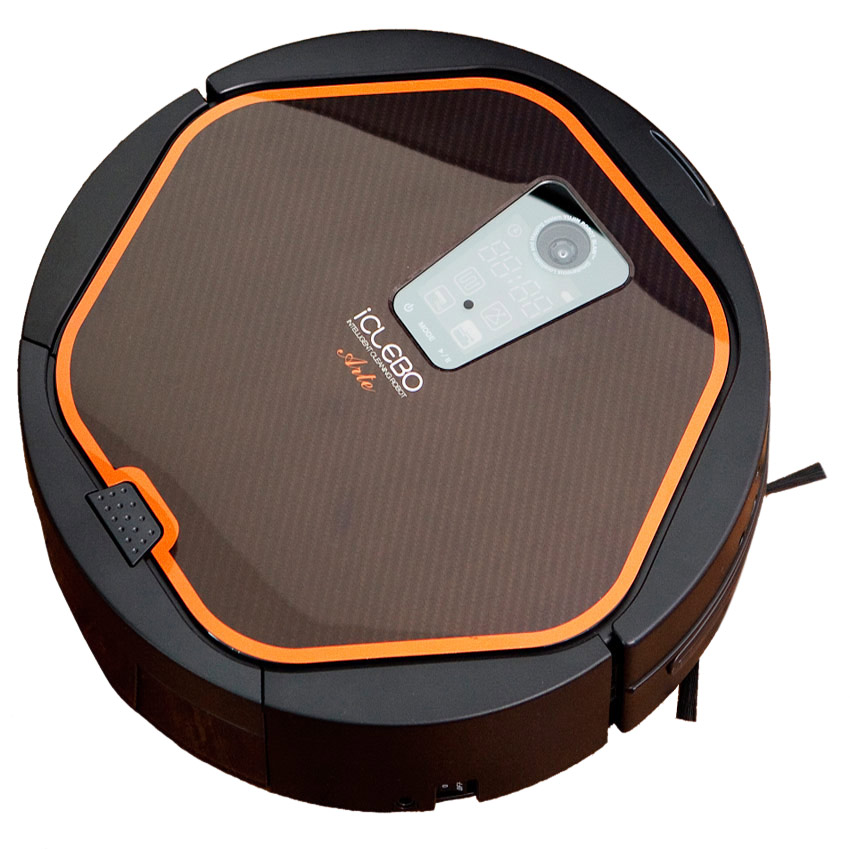 cheap iclebo arte robotic vacuum cleaner wet dry cleaner with camera mapping review. Black Bedroom Furniture Sets. Home Design Ideas