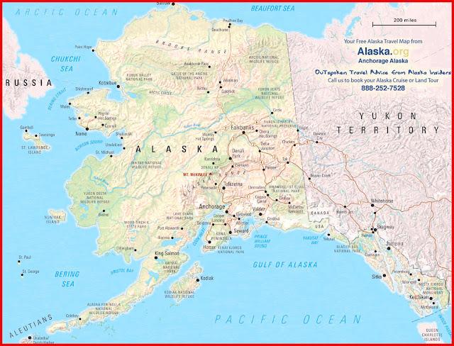 Gambar Peta Alaska Atlas