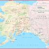 Peta Alaska, Amerika Serikat