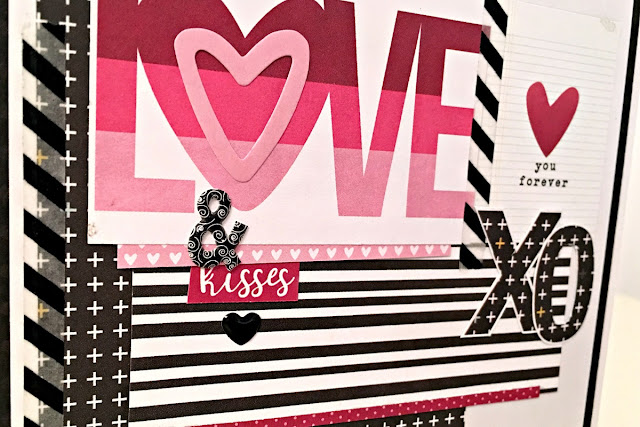 Cards valentine Tracee Provis for Papermaze simple stories love & adore 03
