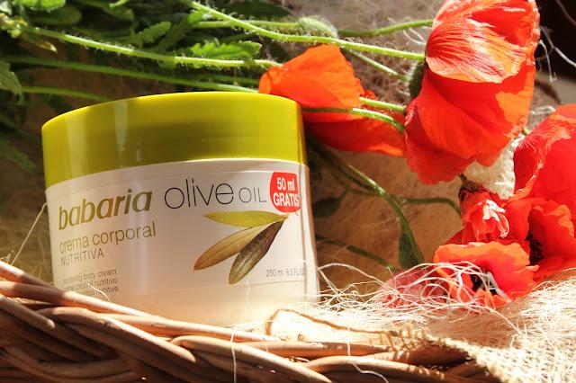 Отзыв: Питательный крем для тела с оливковым маслом Babaria Olive Oil Nourishing Body Cream.