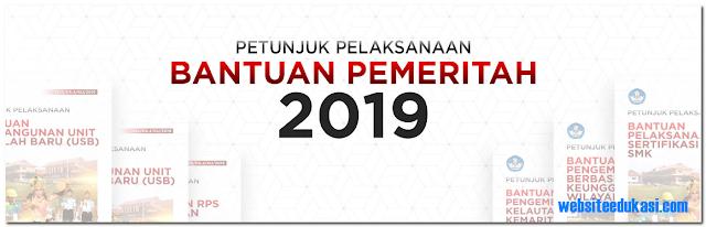 Juklak Bantuan Pemerintah Tahun 2019 SMK