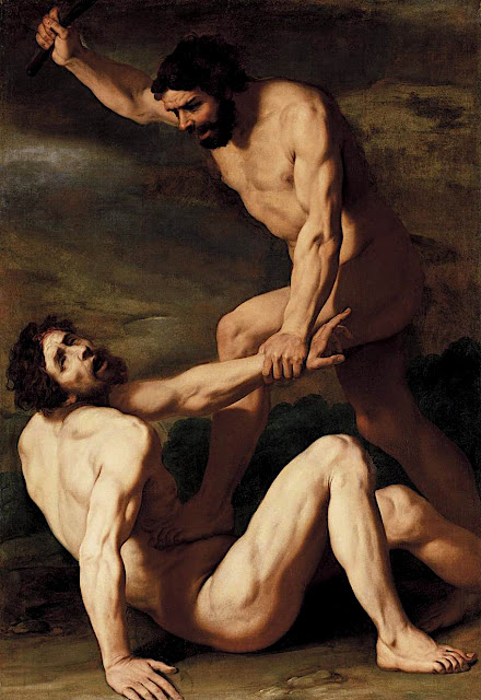 Daniele Crespi: Caino uccide Abele
