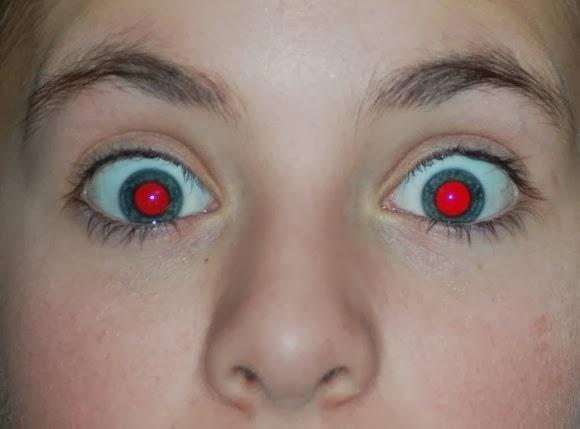 Olhos vermelhos - 580x429