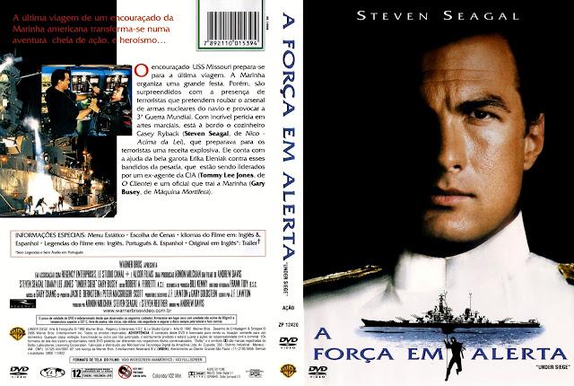 Capa DVD A Força em Alerta