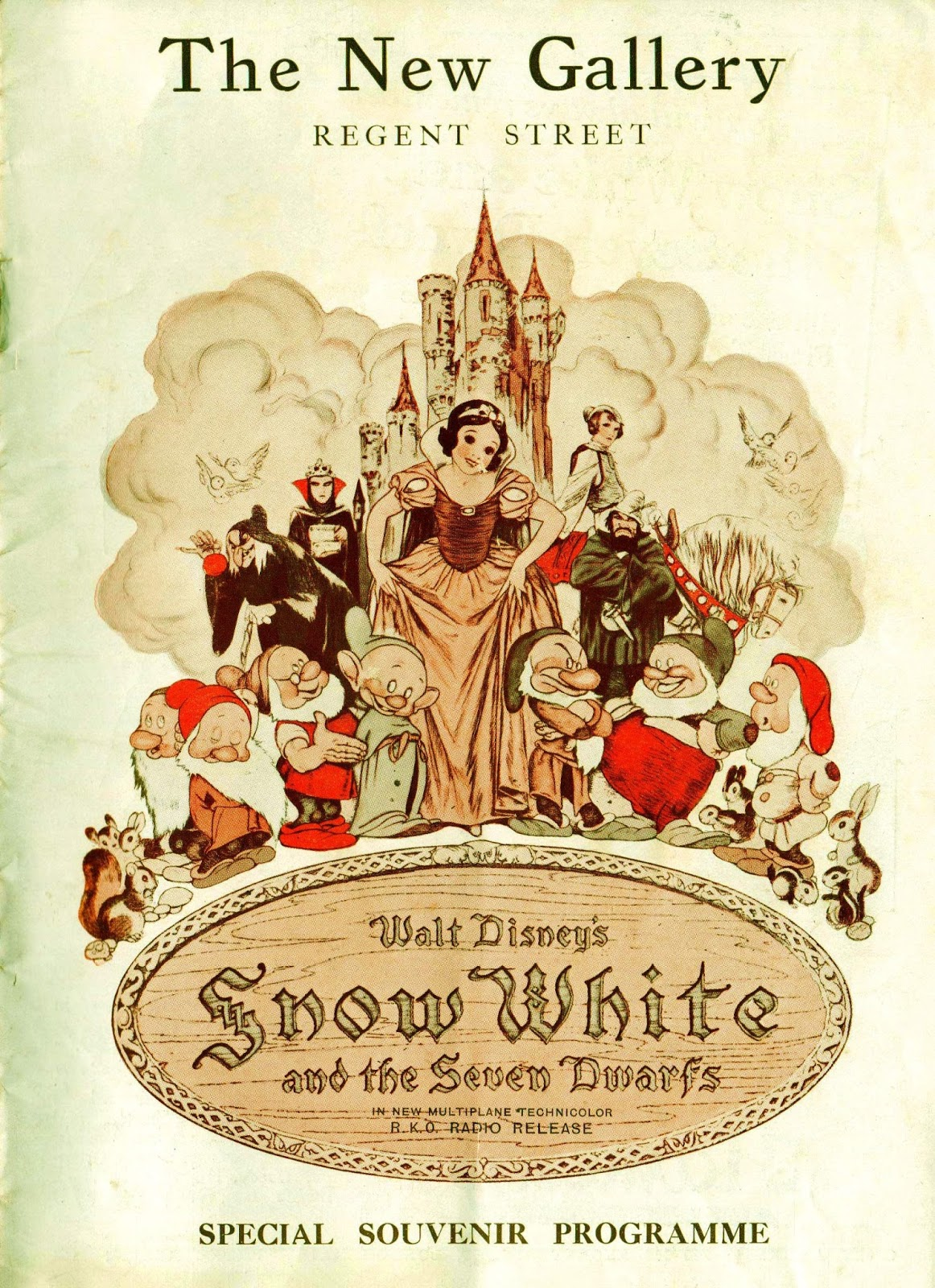 Filmic Light - Snow White Archive: 1938 London Premiere ...