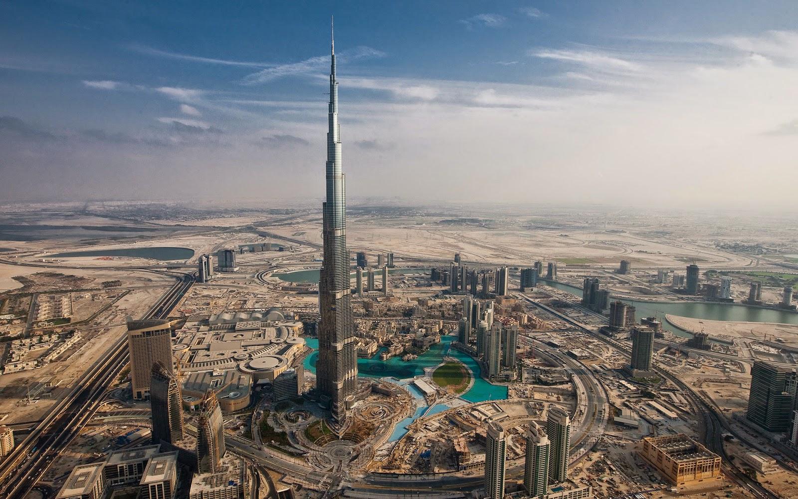 Daftar 10 Gedung Tertinggi di Dunia