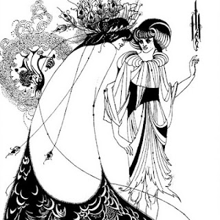 Aubrey Beardsley - The Peacock Skirt