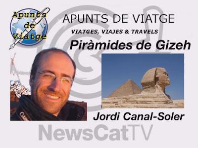 Piràmides de Gizeh a APUNTS DE VIATGE