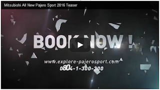 Mitsubishi All New Pajero Sport 2016 Teaser