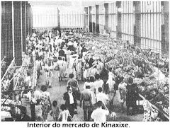 INTERIOR DO MERCADO DE KINAXIXE, O PRIMEIRO PISO.