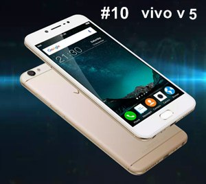 vivo v5 clear slfie smartphone featurs