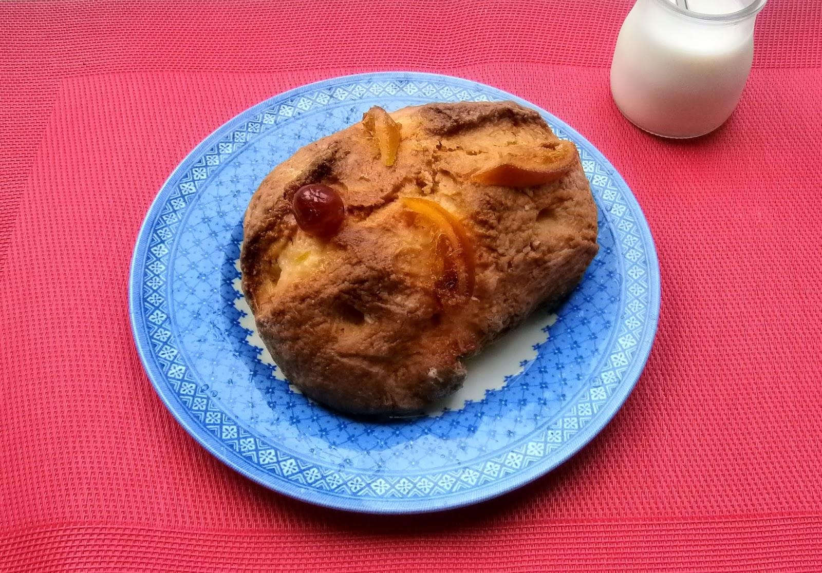Bollo de Frutas, Brioche.