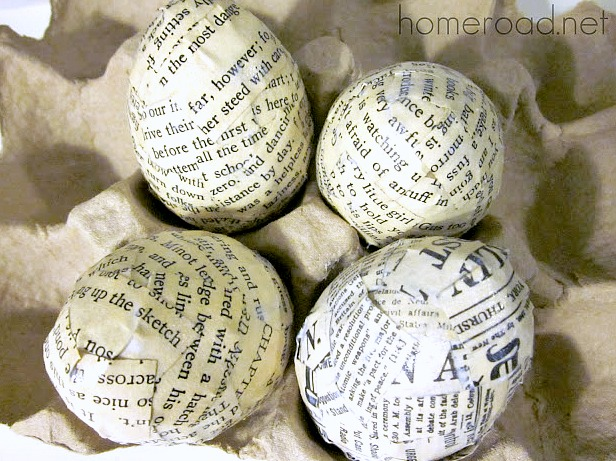 Newsprint easter egg tutorial