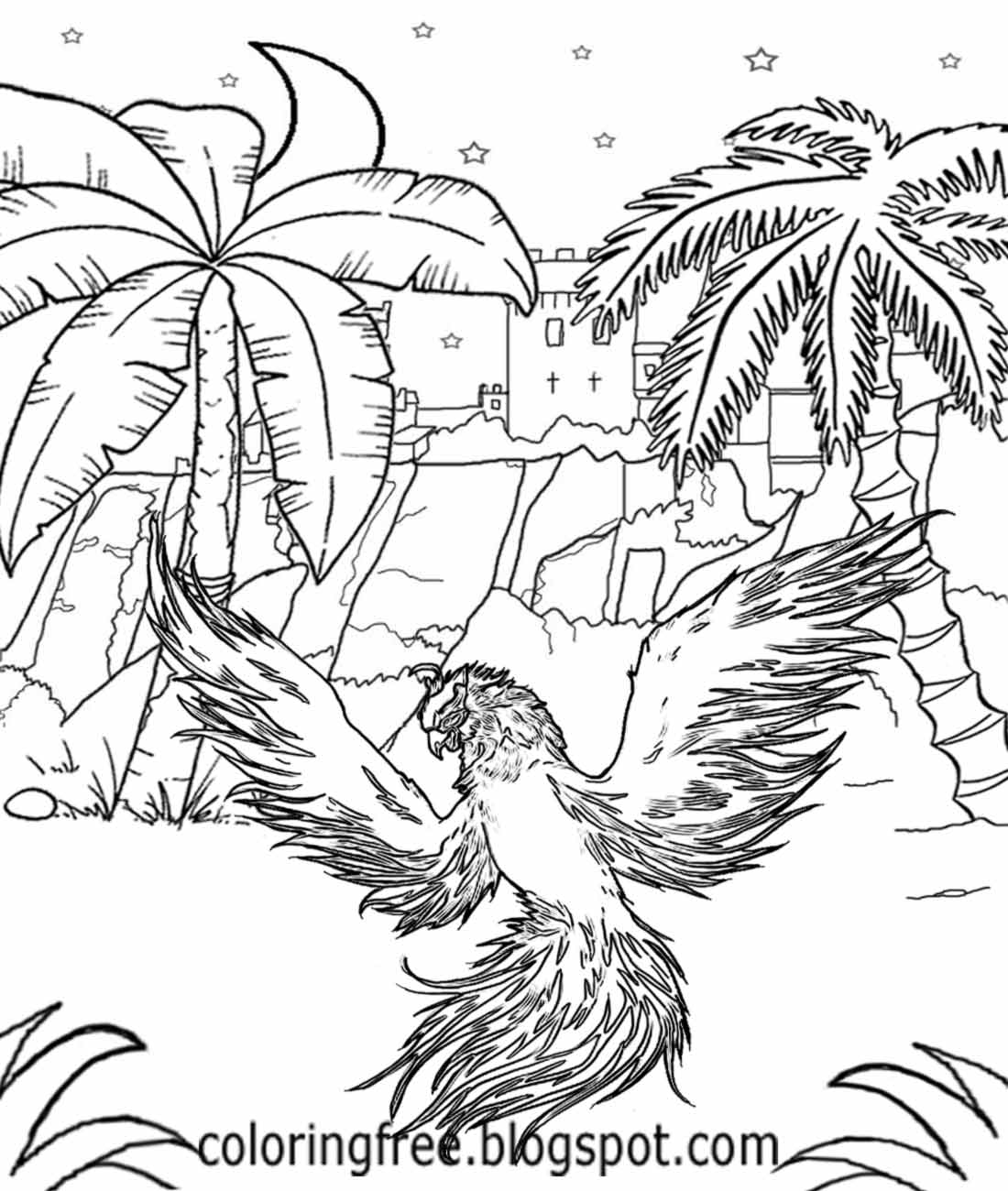 100 593 best fantastical coloring pages images on