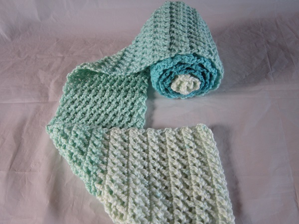 free pattern, crochet, scarf, Caron Cakes, Faerie Cake, video, tutorial