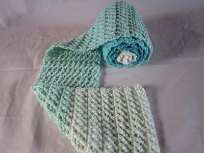 free pattern, crochet, scarf, Caron Cakes, Faerie Cake, video, tutorial