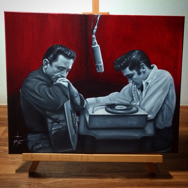 10-Johnny-Cash-Elvis-Presley-Natasha-Farnsworth-Drawings-and-Paintings-Celebrity-Portraits-www-designstack-co