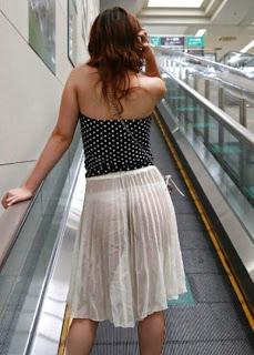 نساء بملابس شفافة في الشوارع!