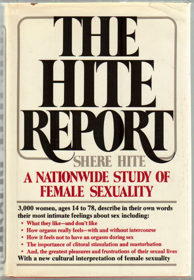 Understood hite report masturbation you tell