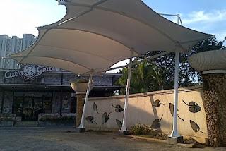 tenda membrane tangerang - gudang canopy