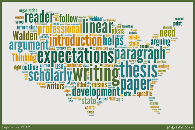 U.S. writing expectations