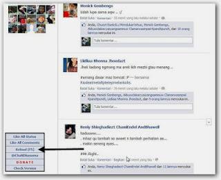 Cara Cepat Nge-like Status Semua Teman di Beranda Facebook