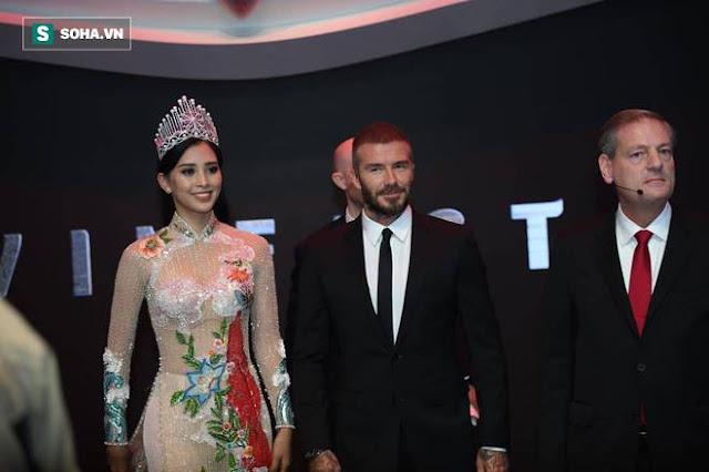 David Beckham và Hoa hậu Việt Nam 2018 Trần Tiểu Vy