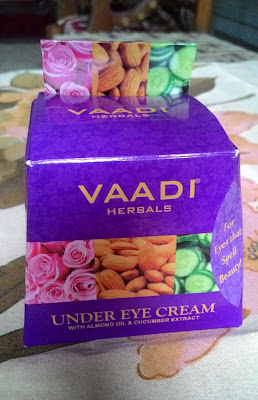 vaadi herbals under eye cream review