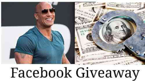 DWAYNE ROCK JOHNSON GIVEAWAYS 2019