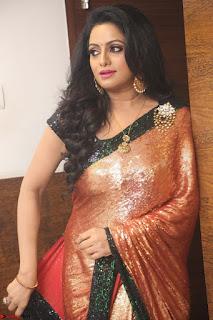Udaya Bhanu lookssizzling in a Saree Choli at Gautam Nanda music launchi ~ Exclusive Celebrities Galleries 125.JPG