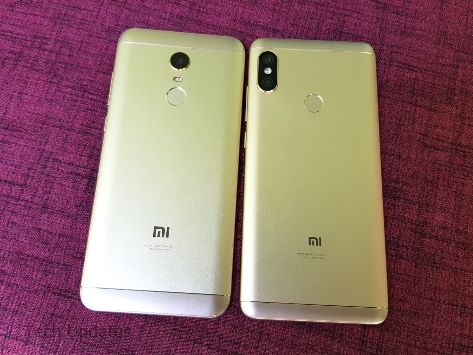 Xiaomi Redmi Note 5 vs Xiaomi Redmi Note 5 Pro : What's