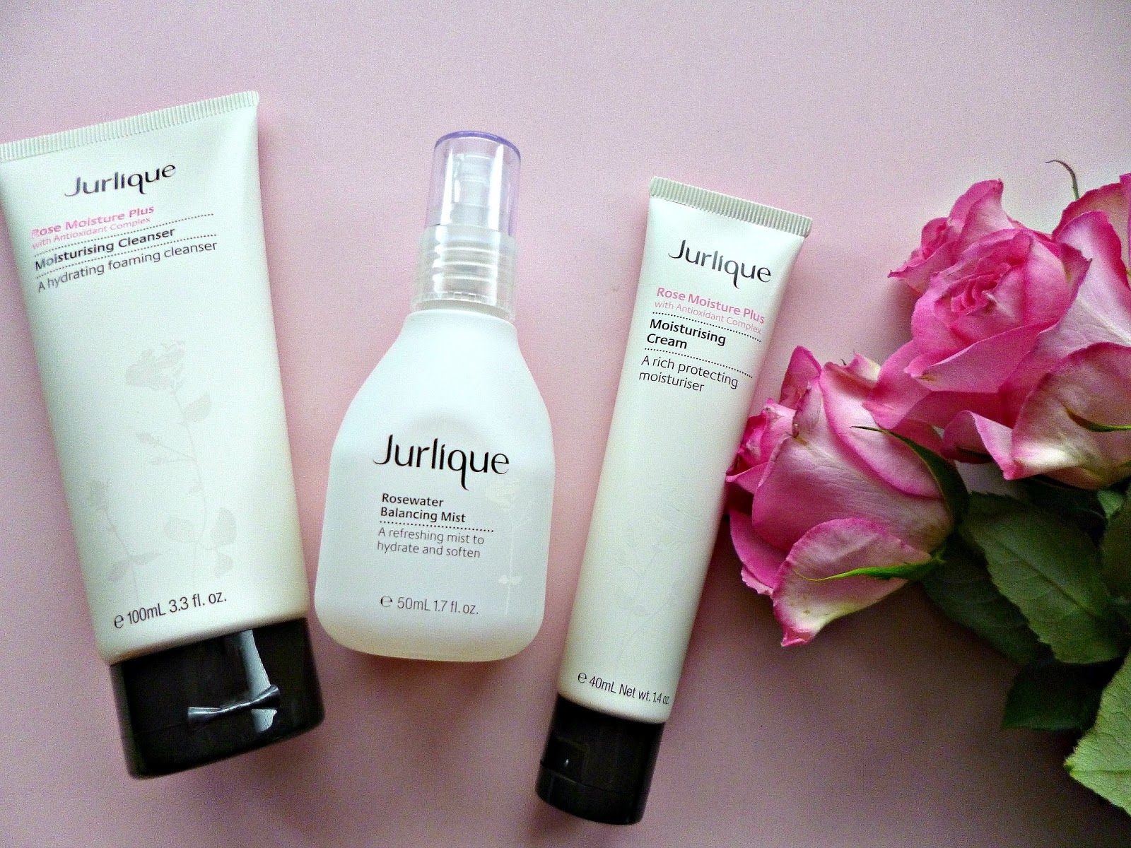 Jurlique Rose moisture plus range