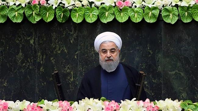 Hassan Rouhani sworn in for second term as Iran president