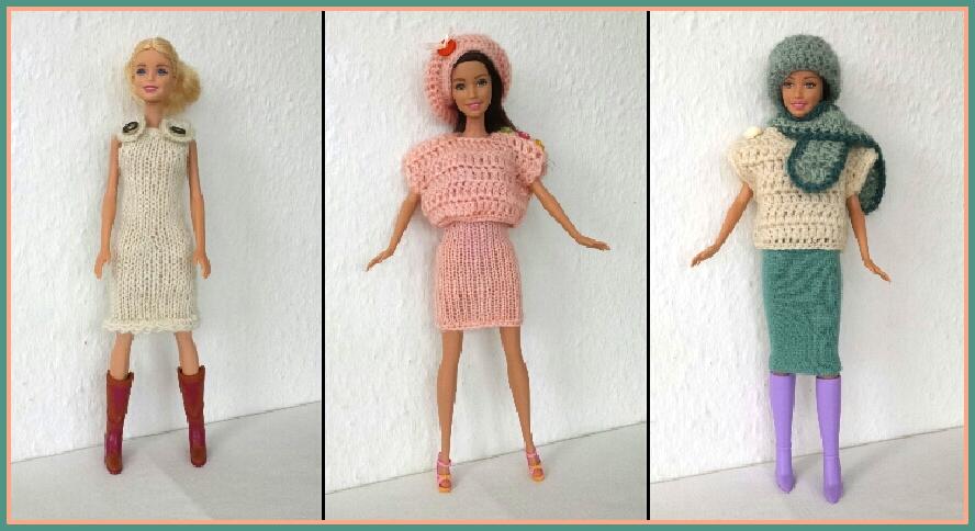 Ksckreativstube Stricken Häkeln Und Nähen Für Barbie