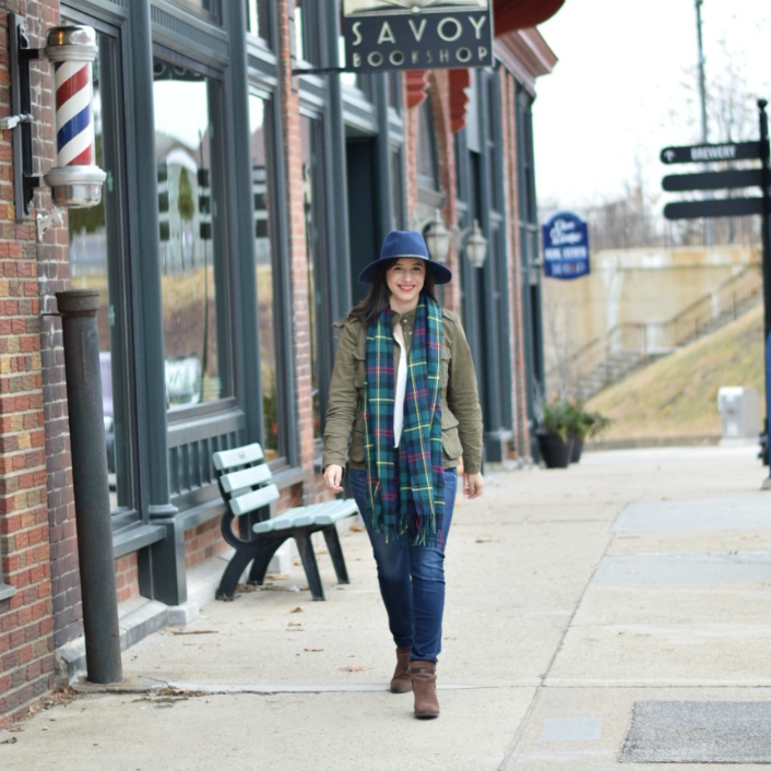 Teacher Style: Affordable Fedora for Winter Accessorizing
