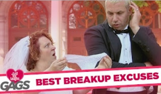 Funny Video – TOP 8 Breakup Excuses For A Single Valentine's Day!