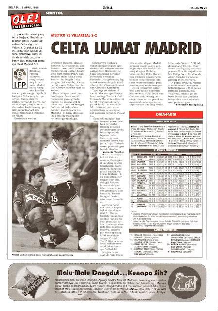 ATLETICO VS VILLAREAL 2-2 CELTA LUMAT MADRID