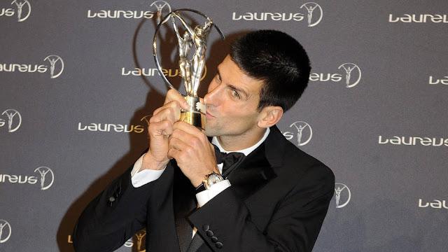 Djokovic competirá con Messi por el Laureus