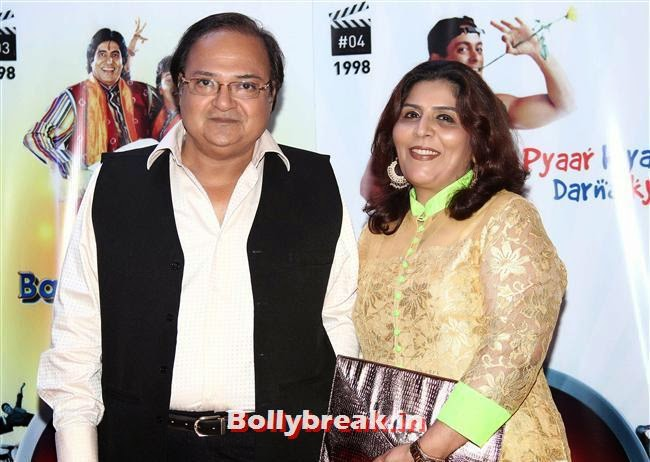 Rakesh Bedi, Vashu Bhagnani's Puja Films 25 Film Completion Party