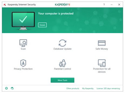 Kaspersky Lab Internet Security v17.0