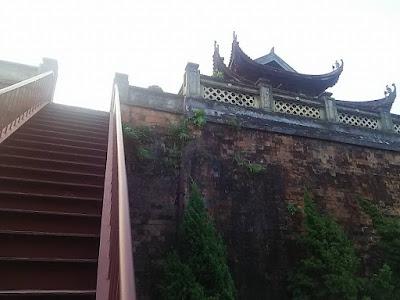 タンロン皇城北門の上の楼閣