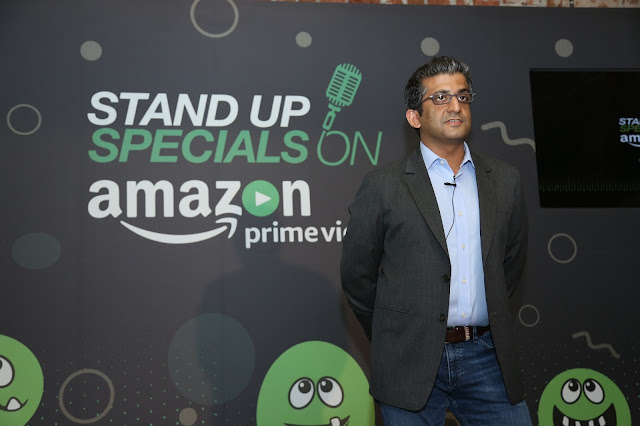 Mr. Nitesh Kripalani, Director and Country Head, Amazon Prime Video India at the launch of Amazon Standup specials-