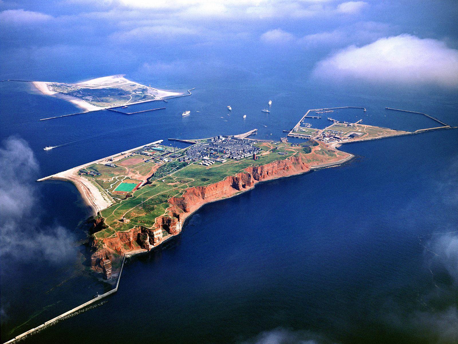 Heligoland pulau jerman yang ingin dilenyapkan inggris terselubung