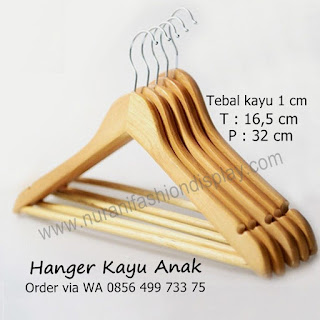 Hanger Kayu Anak