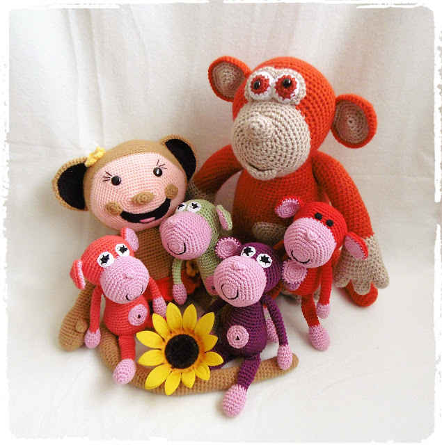 #crochet#amigurumi#monkey#soft#animal#toy
