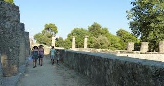 El Templo de Hera, Olimpia.